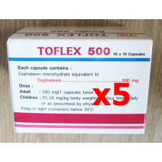 Cephalexin 500 mg 500 caps