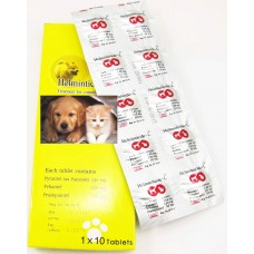 Helminticide - L 100 tabs (Dog)