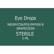 Neomycin Sulfate/Polymyxin B Sulfate/Gramicidin Eye Drop